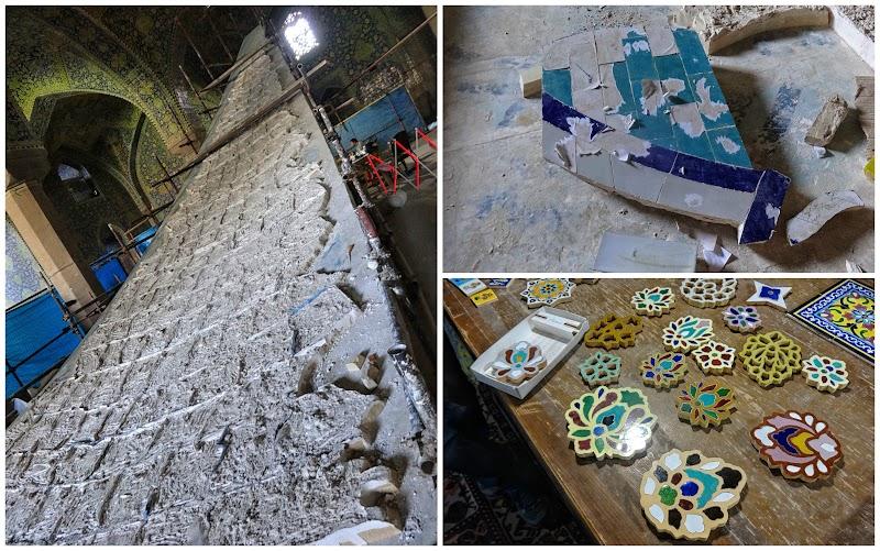 Tworzenie mozaiki w meczecie Imama.jpg