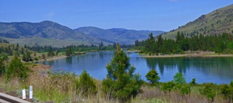 Flathead River along Montana Highway 200