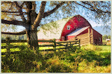 """Sandpoint, ID Barn"" by Ardythe Wendt - 2nd Place A General"