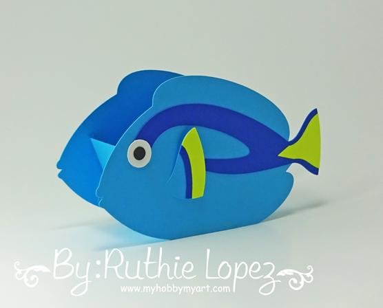 Nemo - Dory - Buscando a Nemo - Buscando a Dory - Finding Dory - Finding Nemo - Ruthie Lopez - My Hobby My Art 4