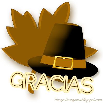 Gracias para Día de Acción de Gracias.