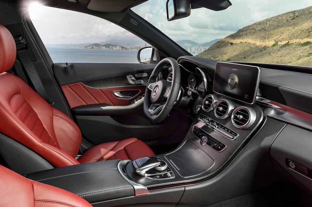 2015 Mercedes Benz C-Class Interior
