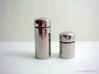 裝潢五金 品名:白鐵玻璃鏡珠 規格:19*28MM 規格:19*45MM 材質:霧銀色 玖品五金