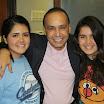Congressman Luis Gutierrez with Karina and Xochitl