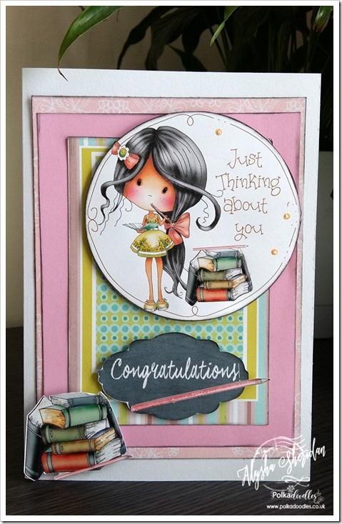 card using Winnie Fruit Punch design sheet