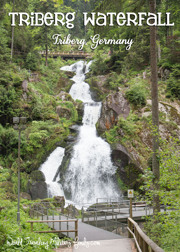 Triberg Waterfall - Triberg, Germany in the Black Forest