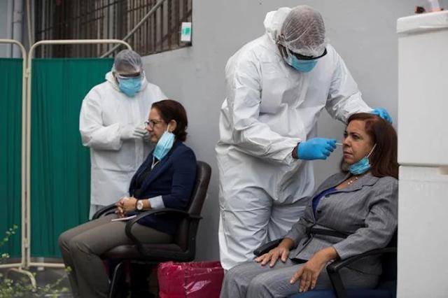 Salud Pública notifica dos defunciones y 321 nuevos contagios por Covid-19