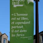 Rue Jean-Jacques Rousseau : citation