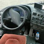 Het dashboard van de Bova Magiq van TCR Tours