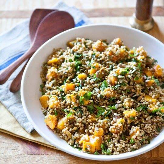 Pumpkin and Sorghum Salad
