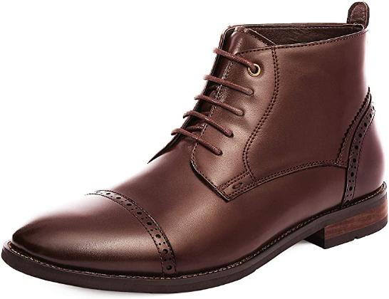 Bruno Marc Men's Dress Ankle Thursday Boots