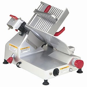 Berkel Gravity Feed Meat Slicer w/ Knife Guard  &  Built-in Sharpener