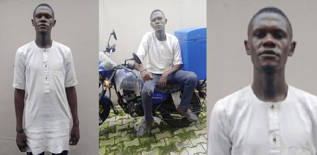 Man Runs Away With Company's Bike On His First Day At Work (Photos)