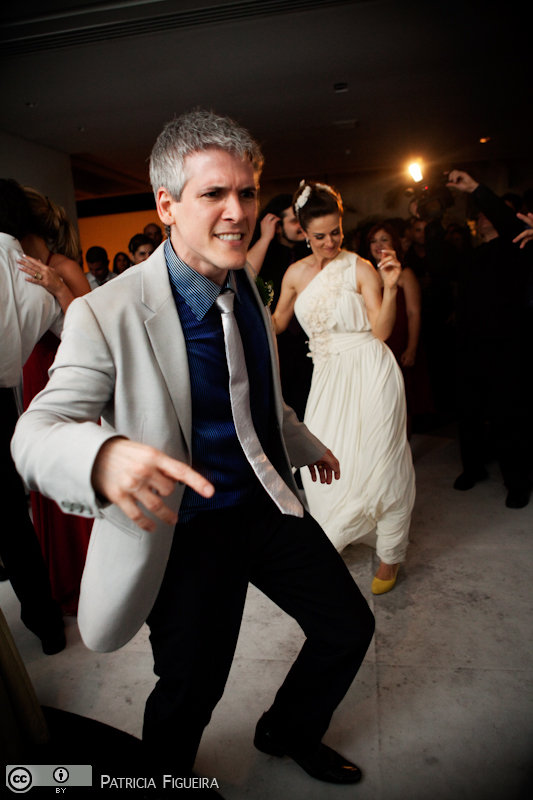Foto de casamento 1635 de Karina e Luiz. Marcações: 30/10/2010, Casamento Karina e Luiz, Rio de Janeiro.