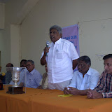 3. Sri NR Kirubakara Moorthy President BFI addressing the players.