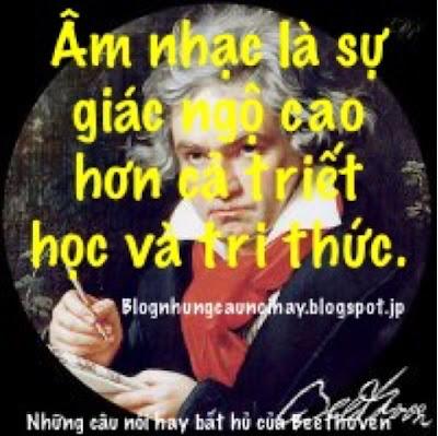 Những câu nói hay bất hủ của Beethoven