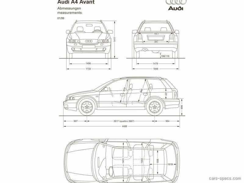 2001 Audi A4 Wagon Specifications, Pictures, Prices
