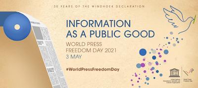 World Press Freedom Day 2021 graphic