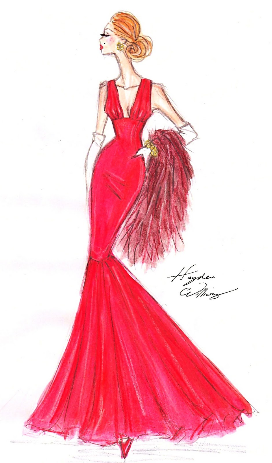 Hayden Williams Fashion Illustrations: Hayden Williams For