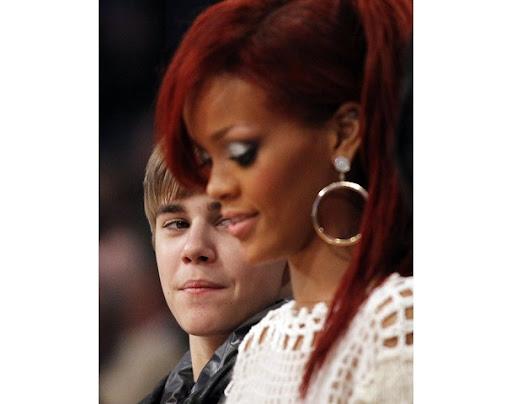 justin bieber rihanna. Rihanna and Justin Bieber