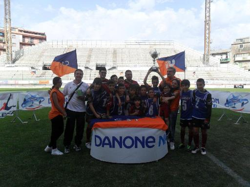 La Reggina Calcio vince la Final Ten messinese della Danone Nations Cup 2013