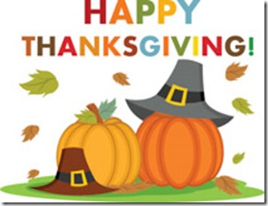 greeting with pumpkins happy thanksgiving clipart