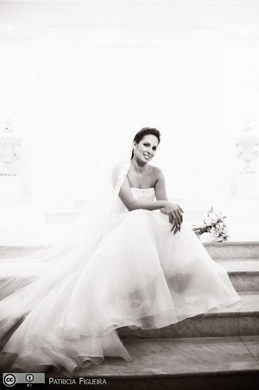 Foto de casamento 0562pb de Ana Rita e Sergio. Marcações: 15/05/2010, Casamento Ana Rita e Sergio, Fotos de Vestido, Rio de Janeiro, Solange Godinho, Vestido, Vestido de Noiva.