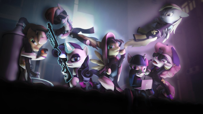 equestria daily   mlp stuff one year of sfm ponies