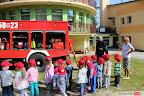 Wizyta strażaków w Miejskim Przedszkolu nr 27 Okrąglaczek.