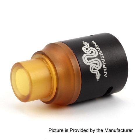 authentic amphisbaena rda rebuildable dripping atomizer black aluminum alloy 24mm diameter thumb%255B2%255D - 【海外】「Artery Uno オールインワンキット」「Artery Vapor Lady Q Discreet ヴェポライザー」「Amphisbaena RDA」