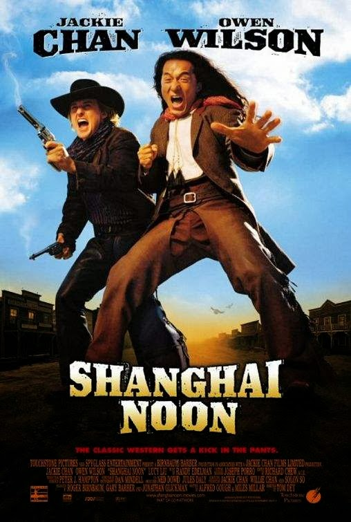Poster Of Shanghai Noon (2000) Full Movie Hindi Dubbed Free Download Watch Online At Alldownloads4u.Com