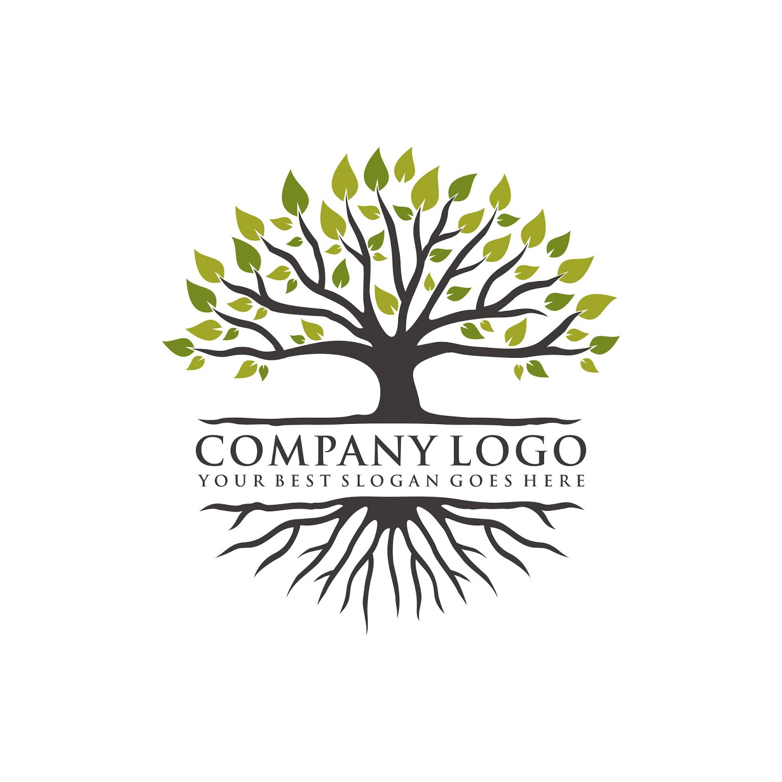 Tree Logo Design Free Download Vector CDR, AI, EPS and PNG Formats