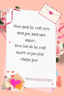 Texte amour