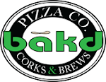 Logo for Bakd Corks & Brews