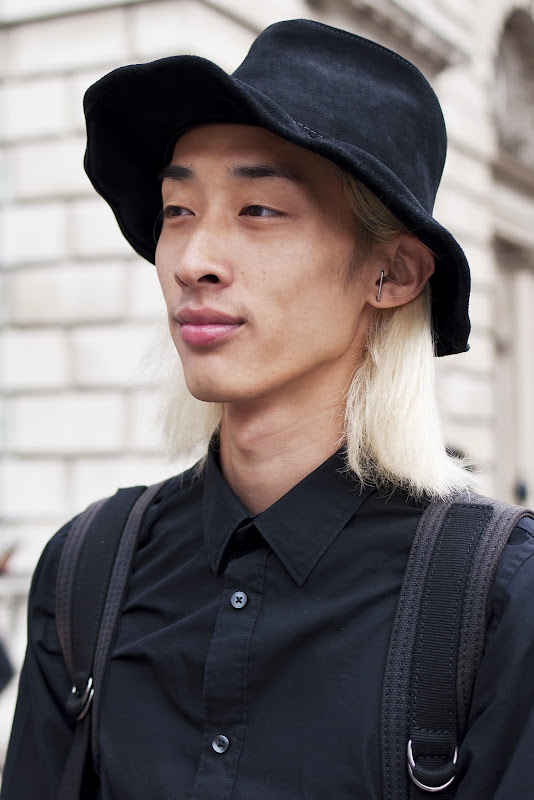 YoungJun Koo at London Fashion Week