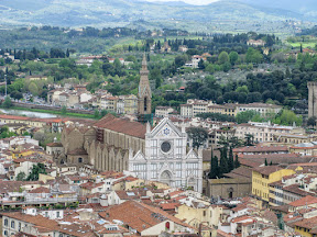 Santa Croce from the Duomo