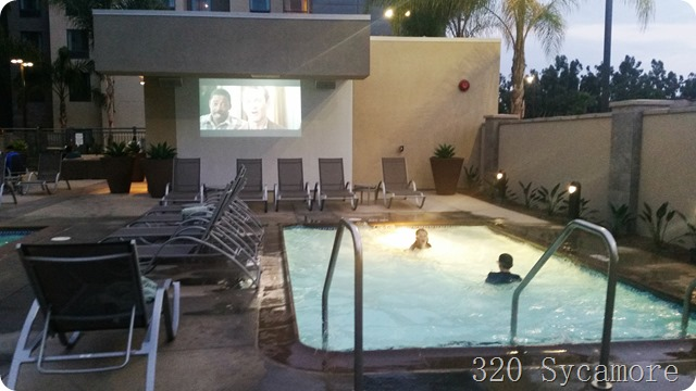 movie night homewood suites disneyland