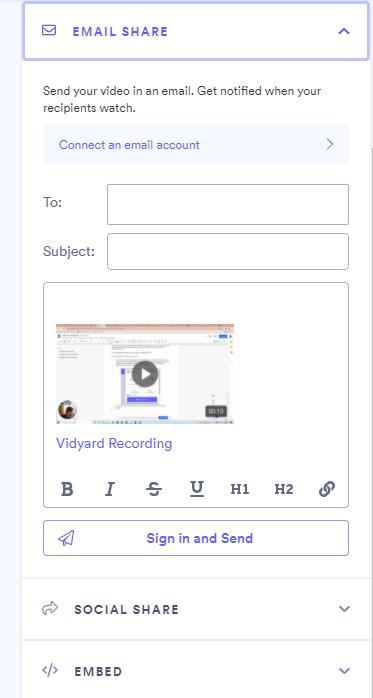 Vidyard Share Modal