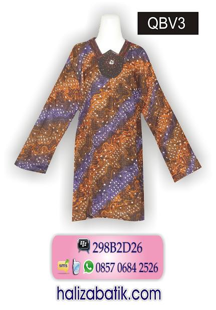 grosir batik pekalongan, Baju Batik Terbaru, Batik Modern, Busana Batik