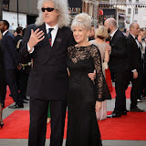 OIC - ENTSIMAGES.COM - Brian May and Anita Dobson at the The Olivier Awards in London 12th April 2015  Photo Mobis Photos/OIC 0203 174 1069