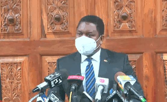 Dan Kazungu with Journalists in Tanzania statements