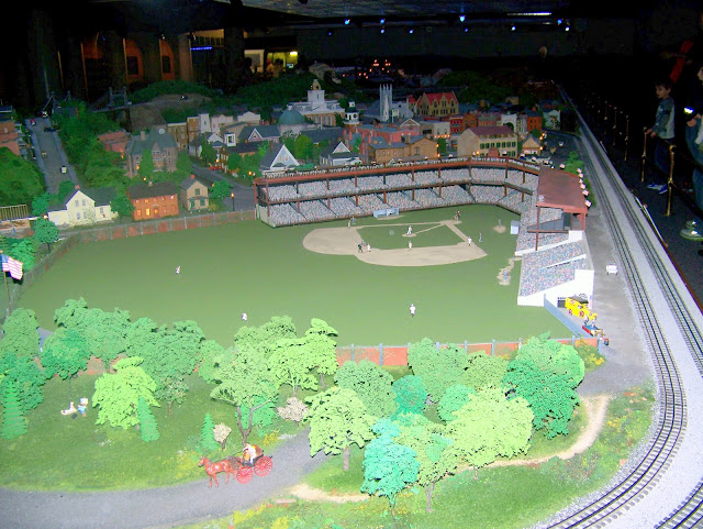 Forbes Field at the Miniature Village & Railway. A Guide to Exploring the Carnegie Science Center