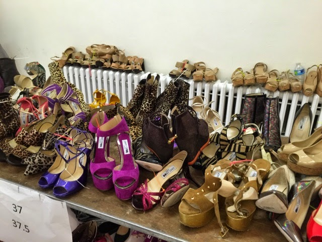 Jimmy Choo sample sale shoes