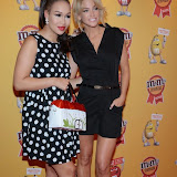 OIC - ENTSIMAGES.COM - Rebecca Ferguson and Sarah Harding at the M & M  party to celebrate a spoof election of its confectionary characters.  M&M's World, Leicester Square, London, 14th April 2015   Photo Mobis Photos/OIC 0203 174 1069