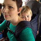 2013, Rome, de drukke bus naar het metrostation