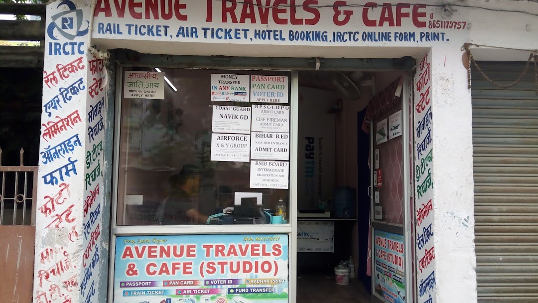 AVENUE TRAVELLS & CAFE (CSC SERVICE CENTER) - Cafe in Kanti