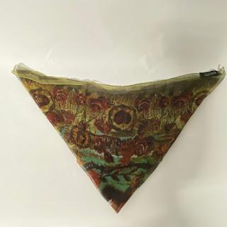 Jean Paul Gaultier Chiffon Silk Scarf
