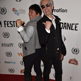 OIC - ENTSIMAGES.COM - Junichi Kajioka and Elliot Grove at the Taking Stock Premiere at the Raindance Film Festival  London 4th October 2015  Photo Mobis Photos/OIC 0203 174 1069