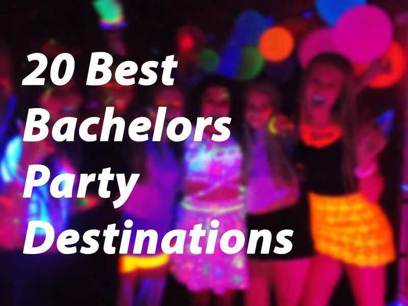 20 best bachelors party destinations