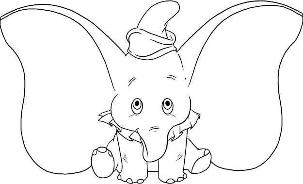 Coloring Pages Of An Elephant